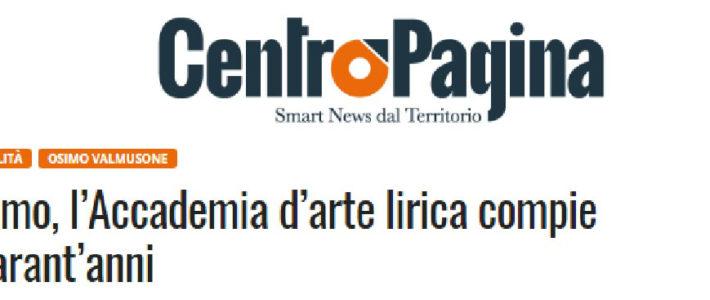 Osimo, l'Accademia d'arte lirica compie quarant'anni