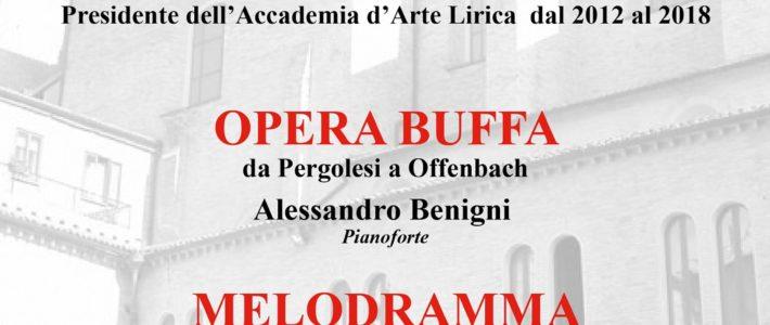Doppio concerto per i solisti dell'Accademia d'Arte Lirica di Osimo