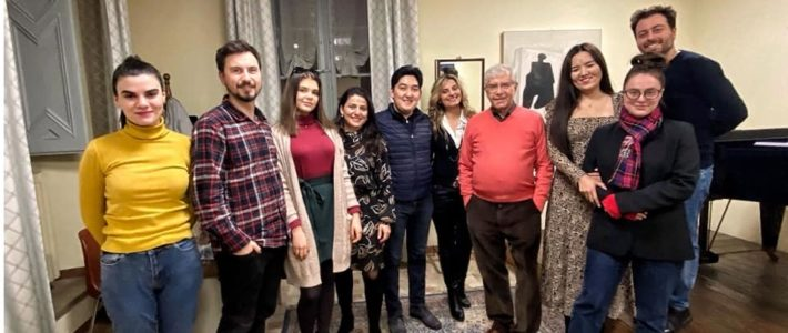 Master class at the Academy of Lyric Art in Osimo