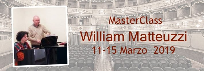 Master class with William Matteuzzi