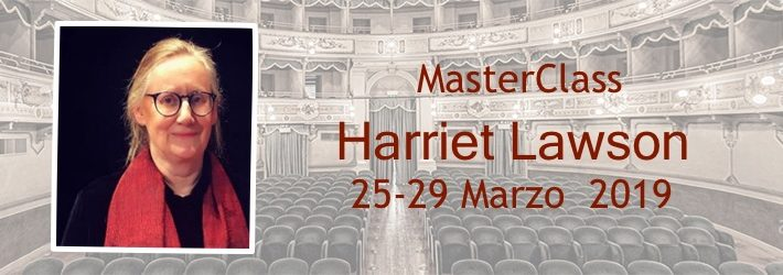 Master class with Harriet Lawson