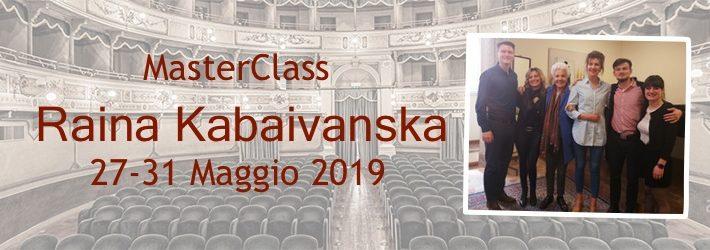 Master Class with Raina Kabaivanska
