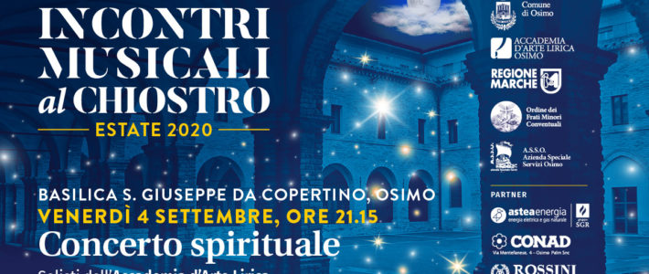 Spiritual Concert of the Soloists of the Lyric Art Academy at the Basilica of San Giuseppe da Copertino in Osimo
