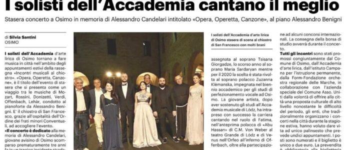 I solisti dell'Accademia d'Arte Lirica cantano il meglio