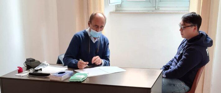Incontro con il dott. Franco Fussi