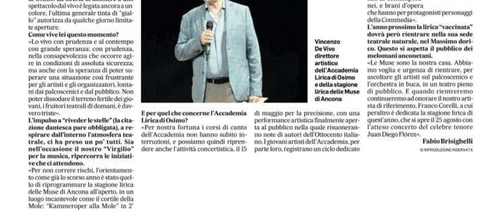 Interview to Vincenzo de Vivo