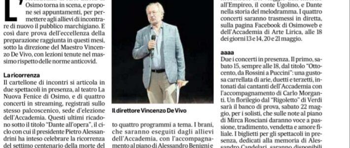 Canzoni ed arie d'opera ispirate da Dante