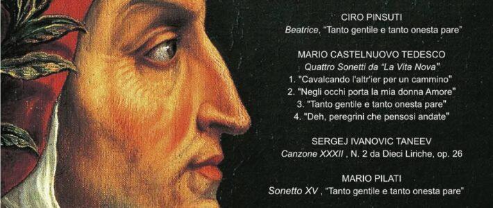 Dante all'Opera – Vita Nuova