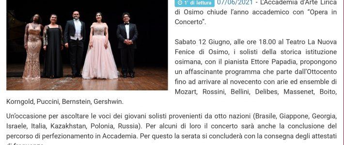 Opera in concerto con i Solisti dell'Accademia d'Arte Lirica