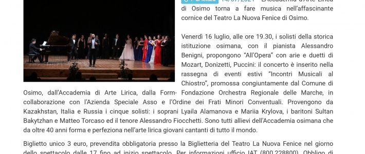 All'Opera – Osimo