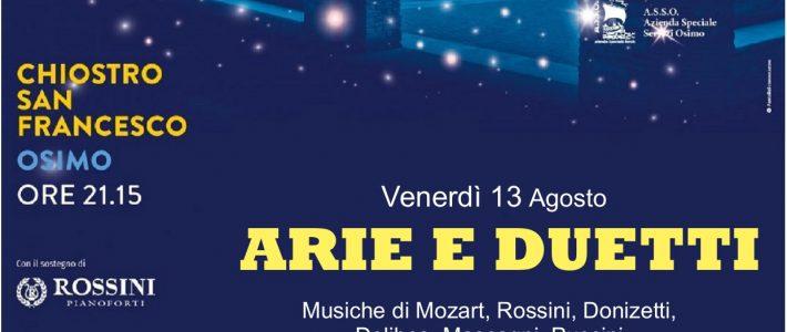 Arie e duetti