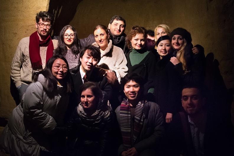 simo, Grotte di Piazza Dante – 13 febbraio 2015. Musiche di Rossini, Mozart, Donizetti. Solisti dell'Accademia d'Arte Lirica, chitarra Cesare Sampaolesi.