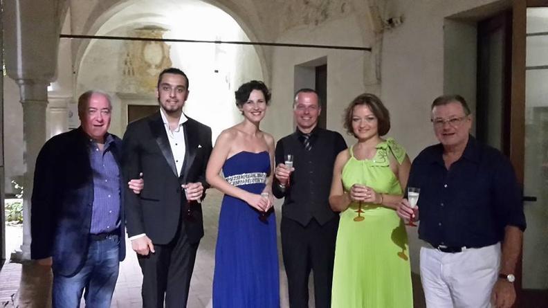 Treviso, Musei Santa Caterina – 23 luglio 2015. Musiche di Mozart, Donizetti, Bellini, Wagner, Bizet, Offenbach. Solisti dell'Accademia d'Arte Lirica, al pianoforte Paolo Polon.